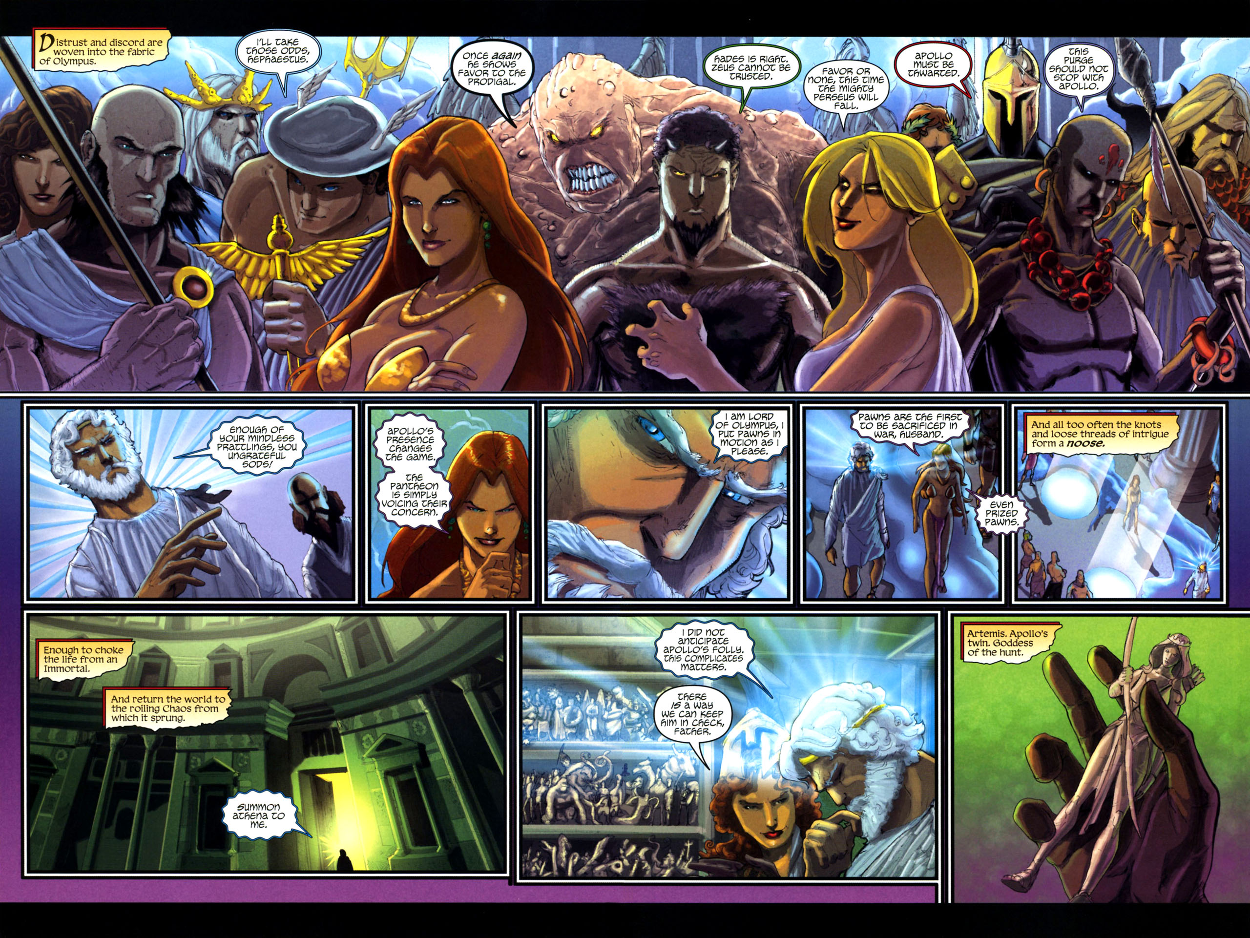 Read online Wrath of the Titans comic -  Issue #3 - 9
