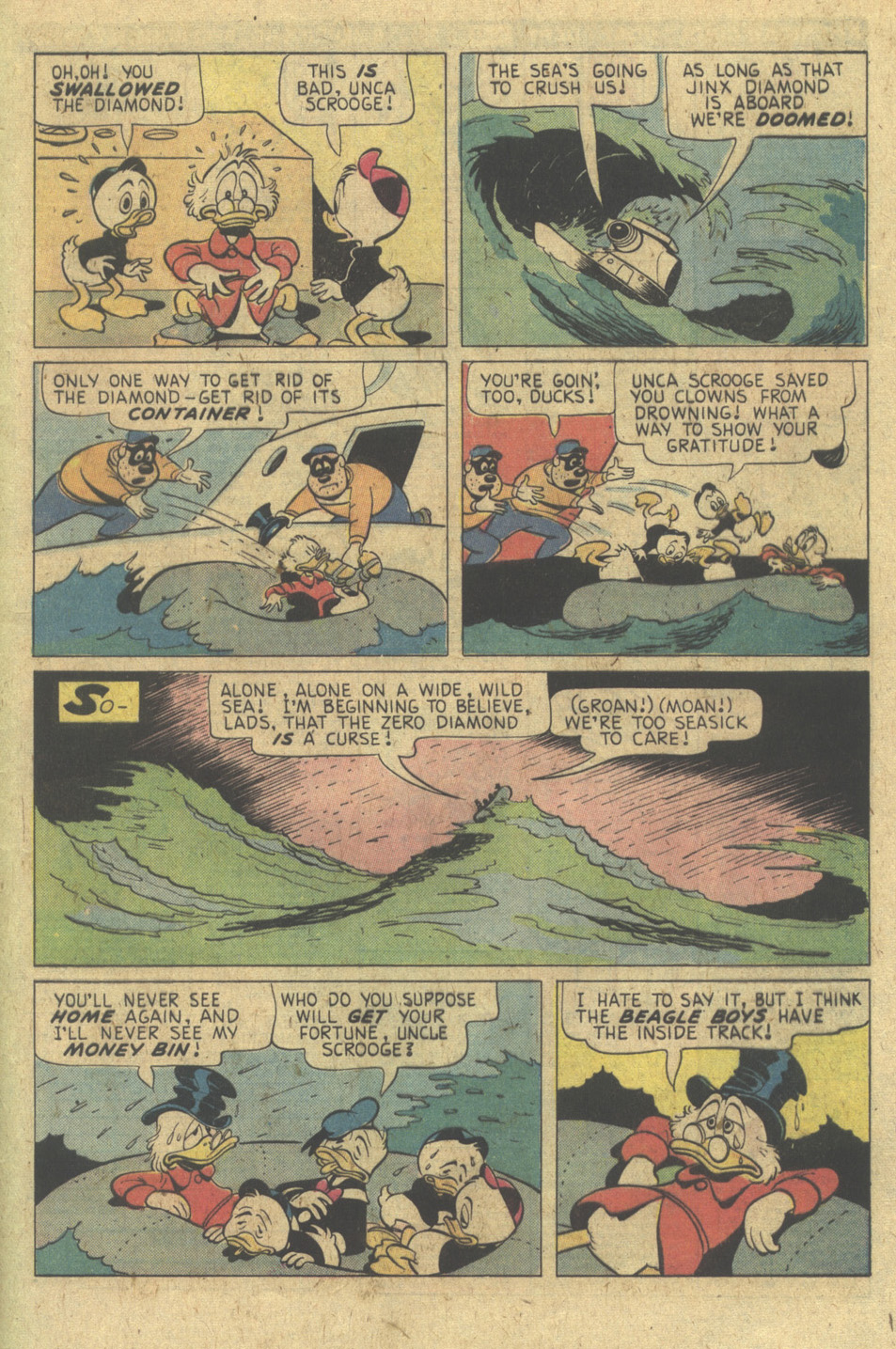 Read online Uncle Scrooge (1953) comic -  Issue #133 - 29