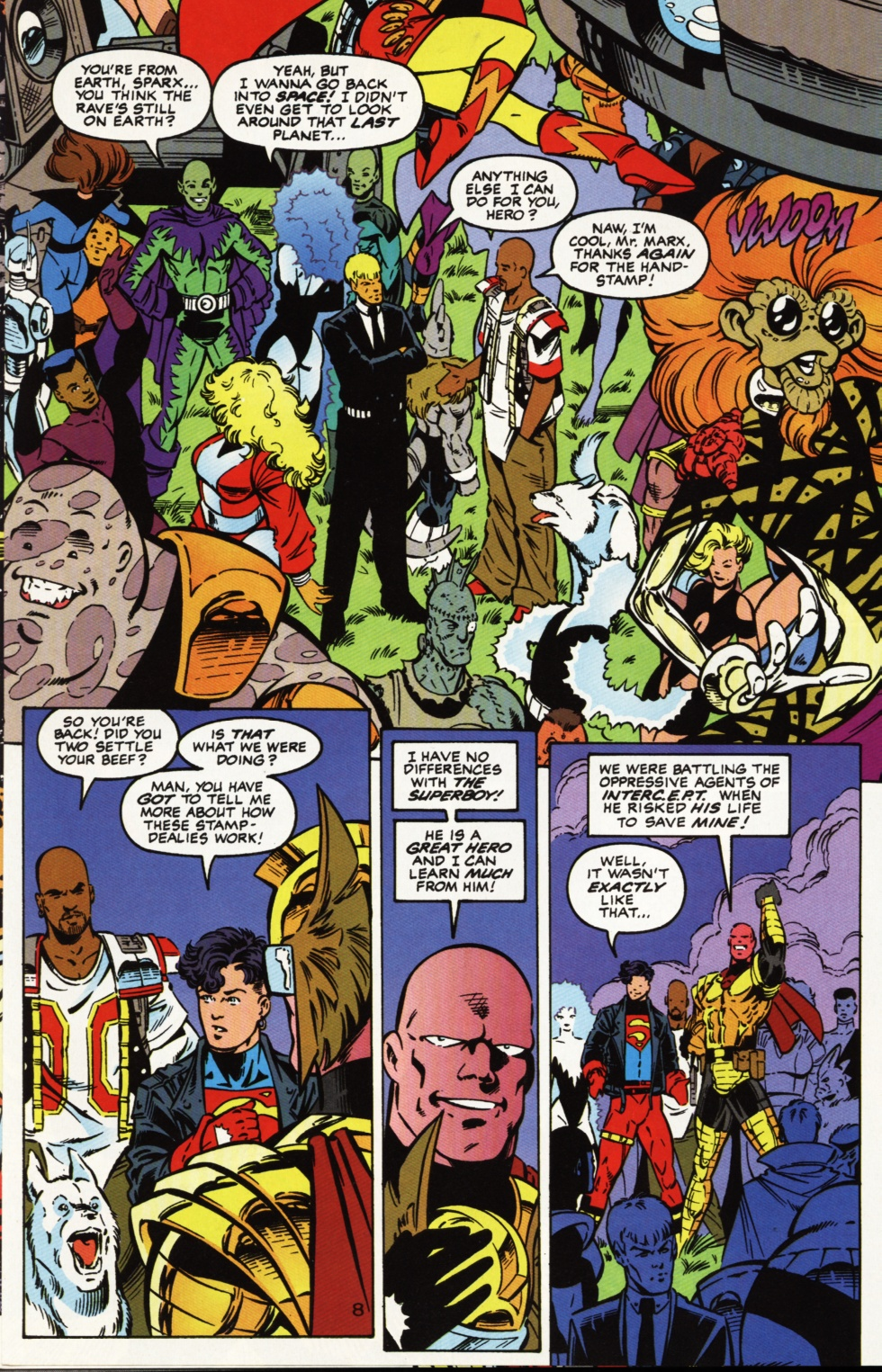 Read online Superboy & The Ravers comic -  Issue #2 - 9