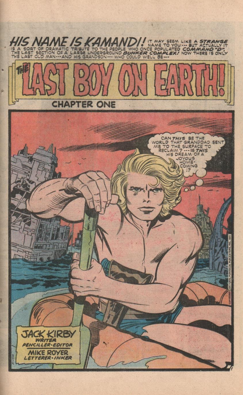 Kamandi, The Last Boy On Earth issue 32 - Page 30