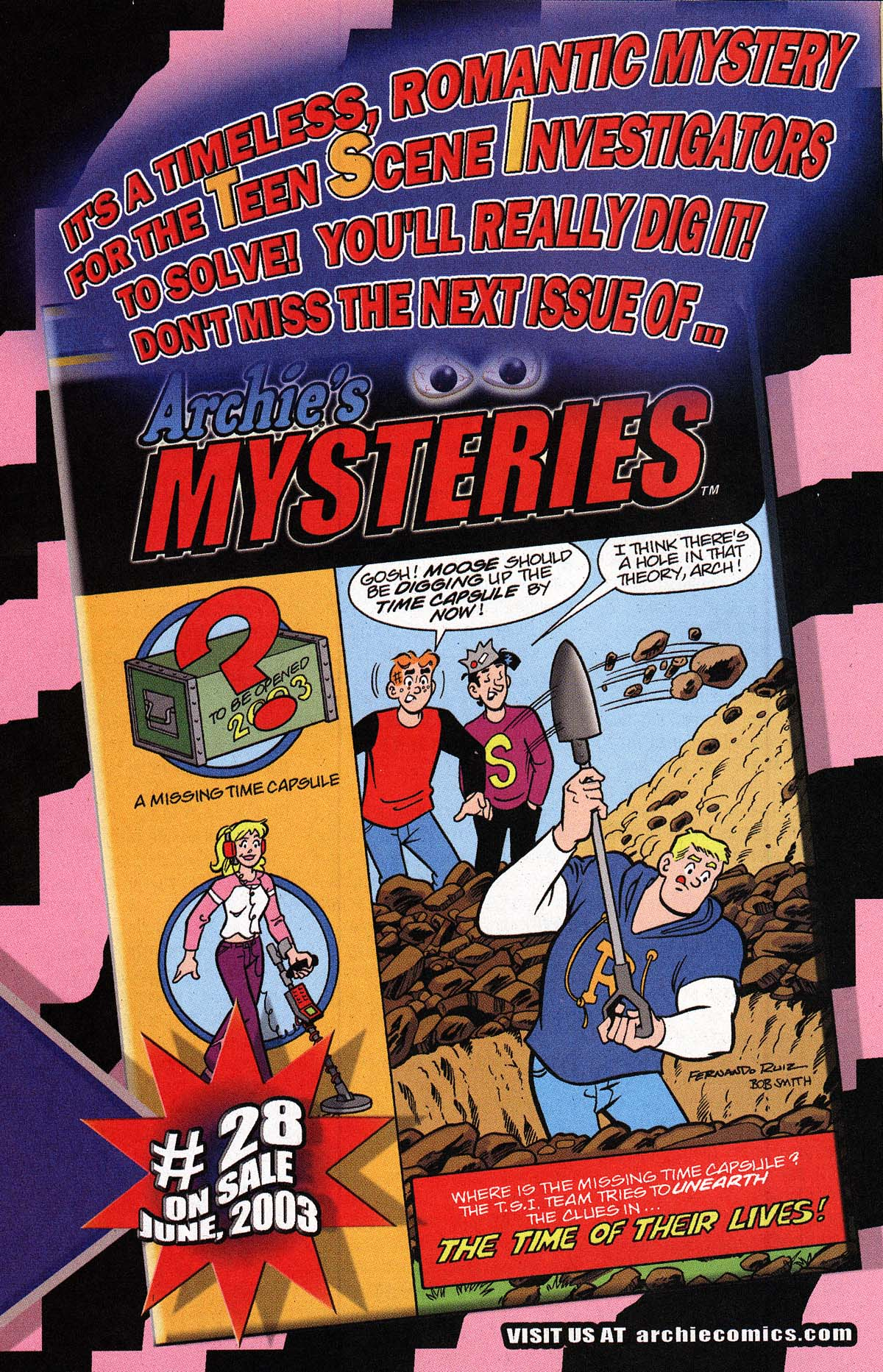 Read online Archie's Weird Mysteries comic -  Issue #27 - 17