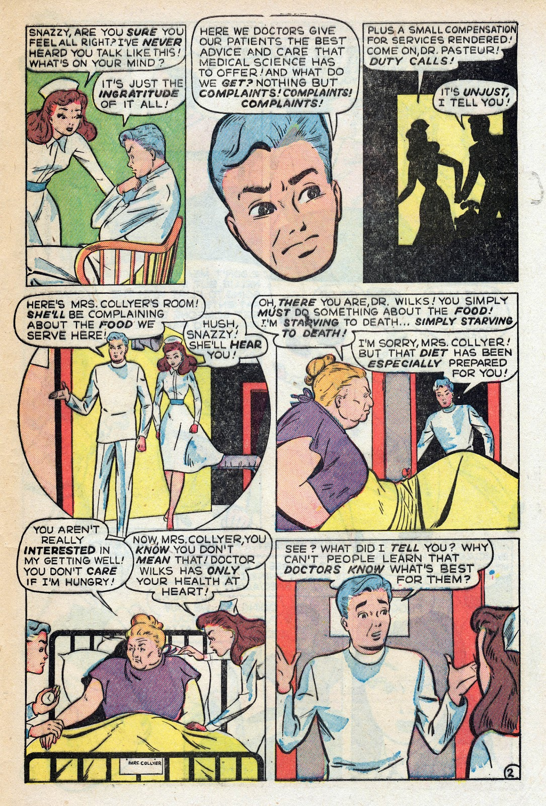 Read online Nellie The Nurse (1945) comic -  Issue #17 - 45