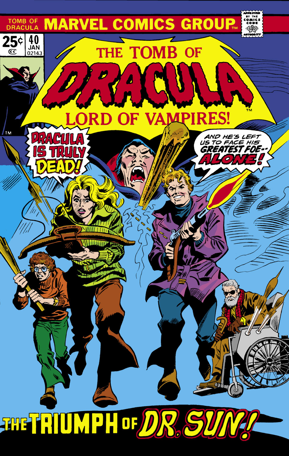 Tomb of Dracula (1972) issue 40 - Page 1