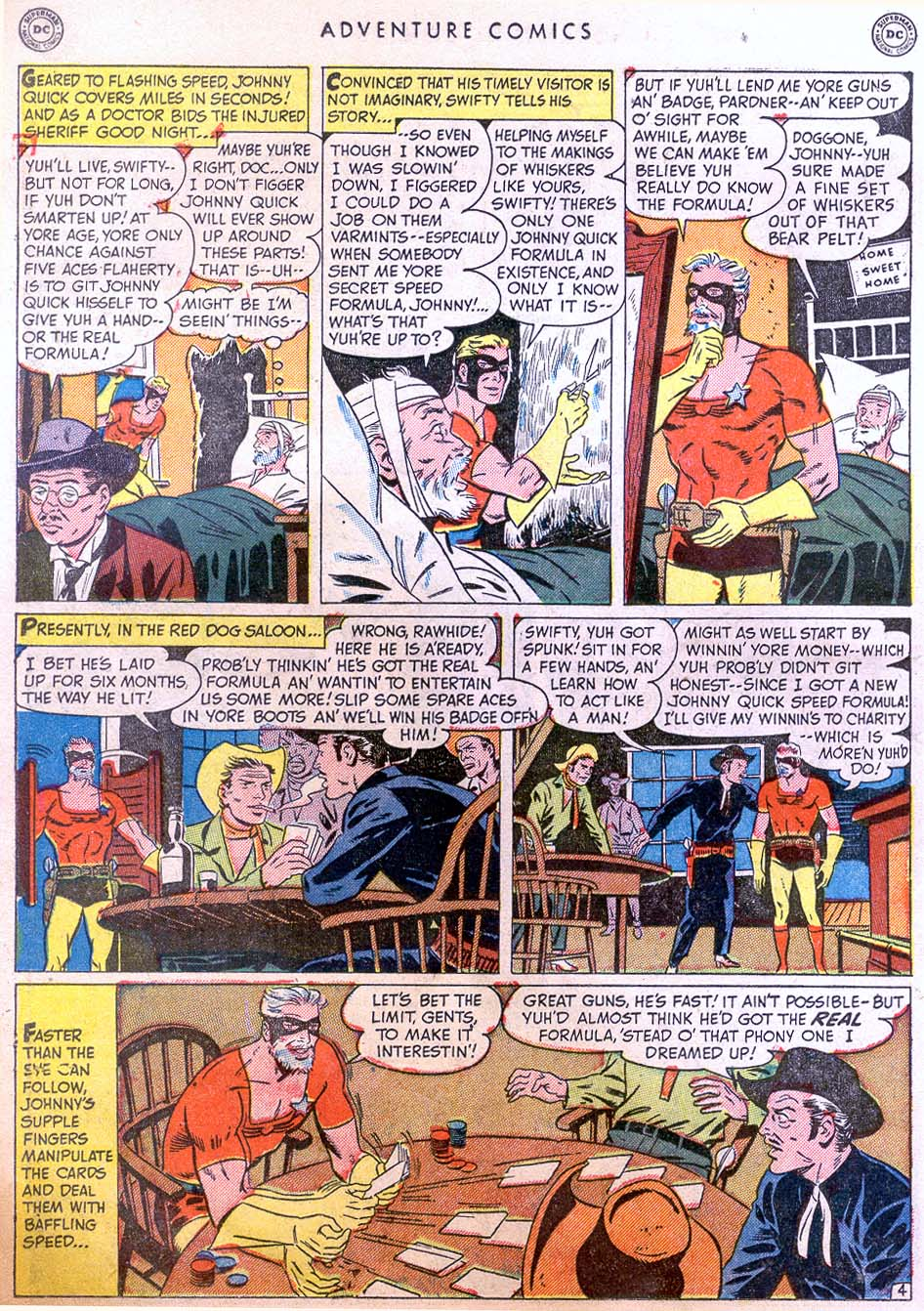 Read online Adventure Comics (1938) comic -  Issue #158 - 20