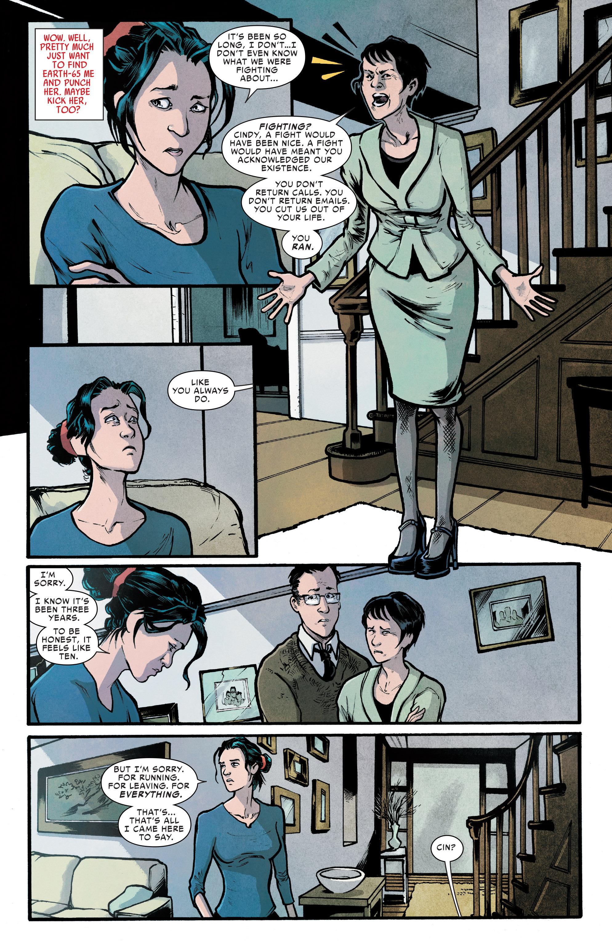 Read online Silk (2016) comic -  Issue #7 - 11