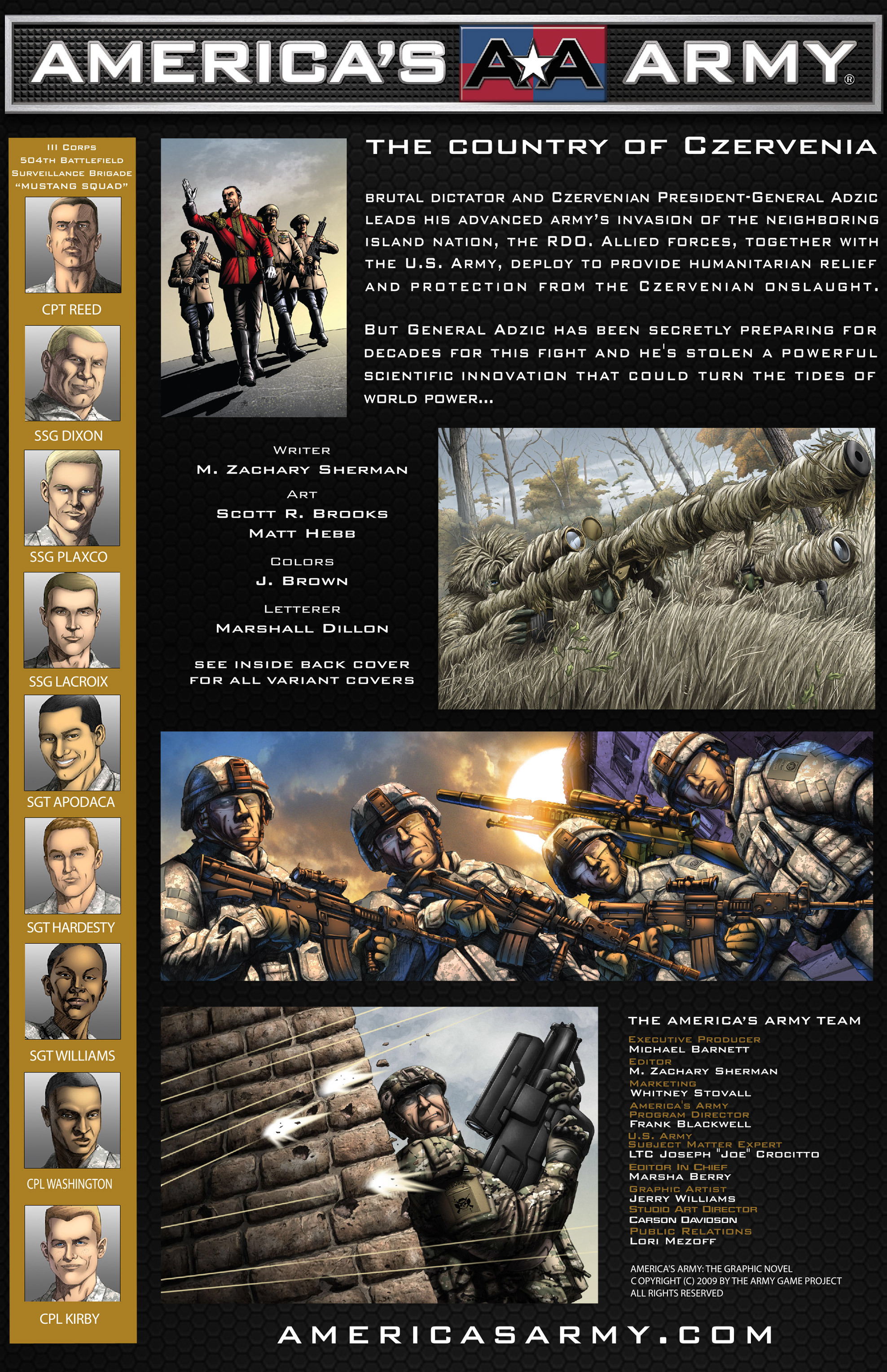 Read online America's Army comic -  Issue #0 - 5