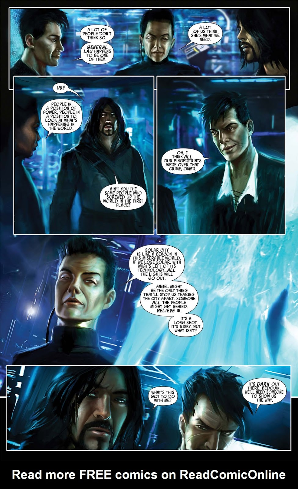 Read online After Dark comic -  Issue #1 - 17