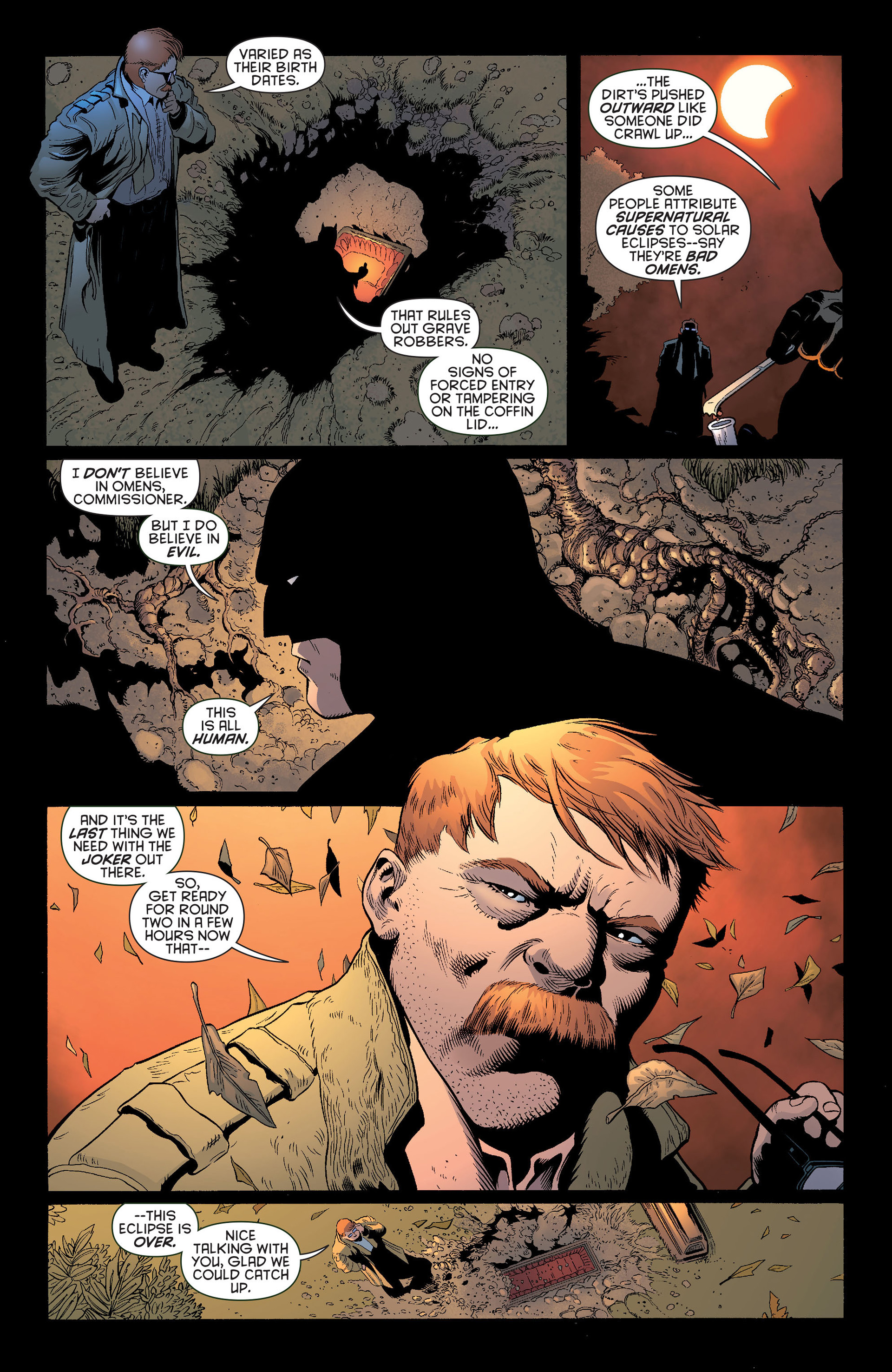 Read online Batman and Robin (2011) comic -  Issue #13 - 12