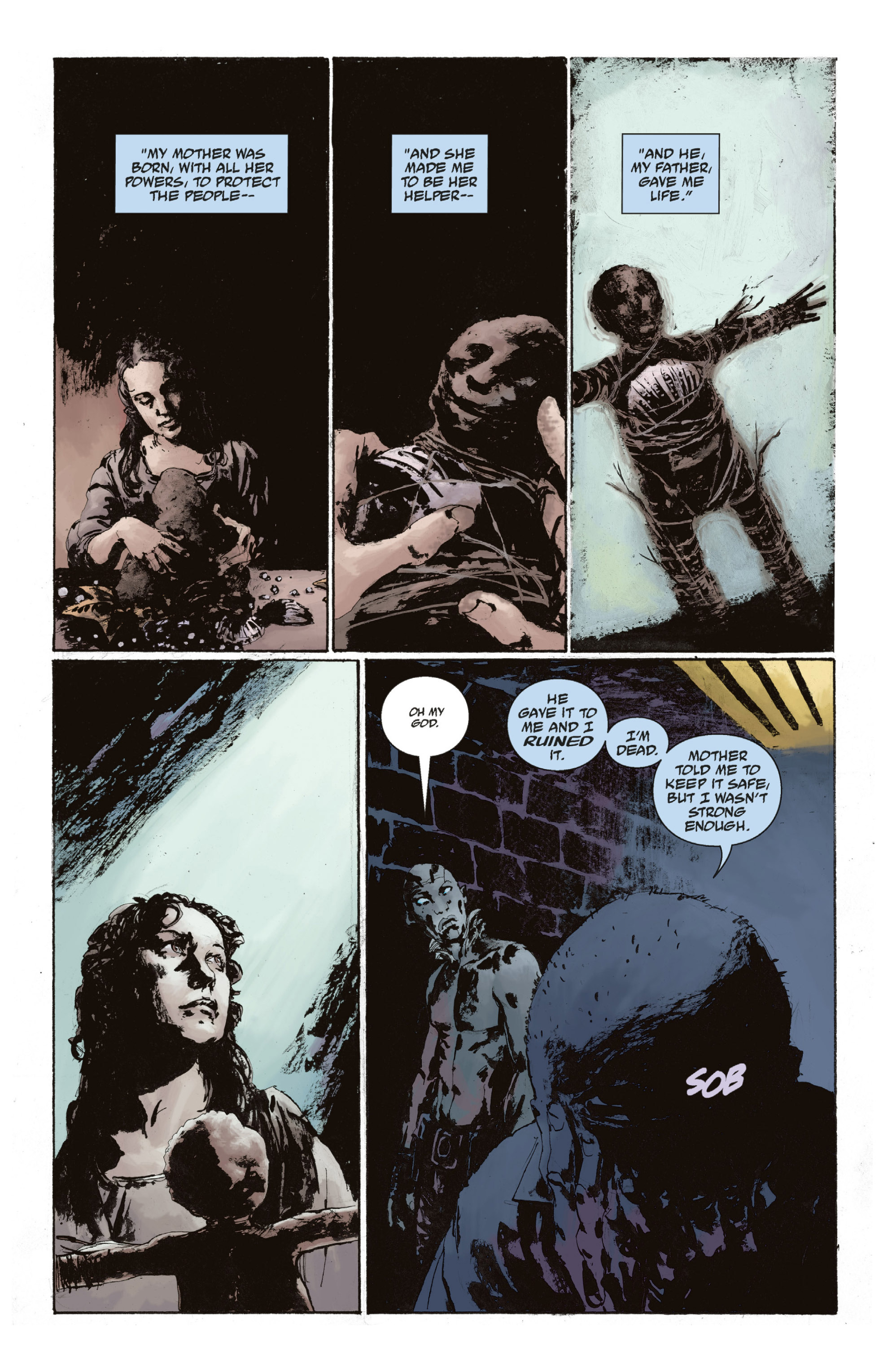 Read online Abe Sapien: The Drowning comic -  Issue #Abe Sapien: The Drowning _TPB - 115