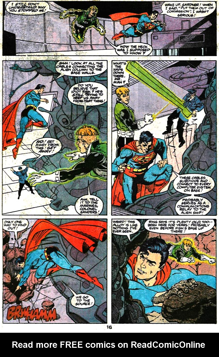 Read online Adventures of Superman (1987) comic -  Issue #473 - 18