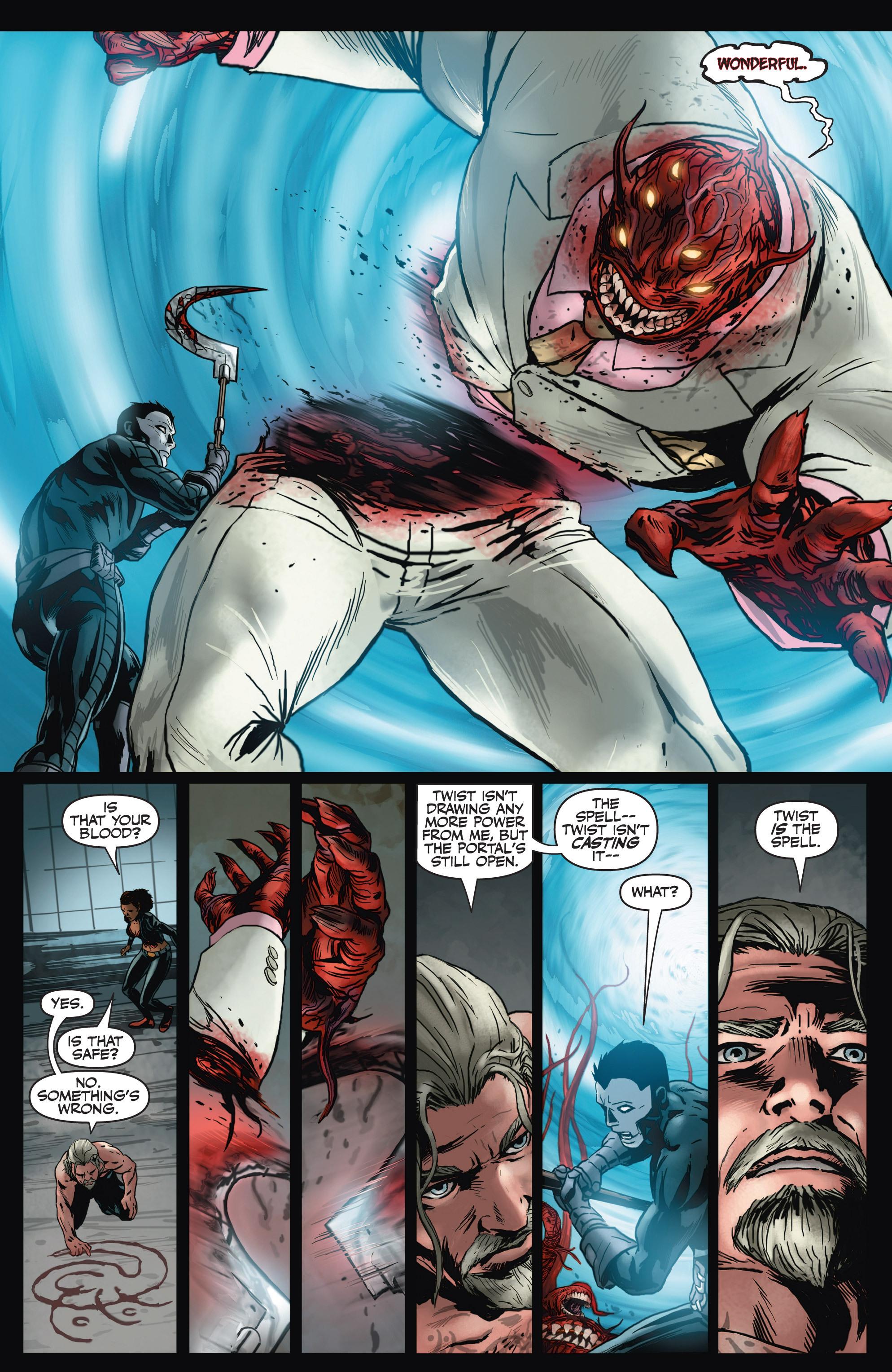 Read online Shadowman (2012) comic -  Issue #4 - 13