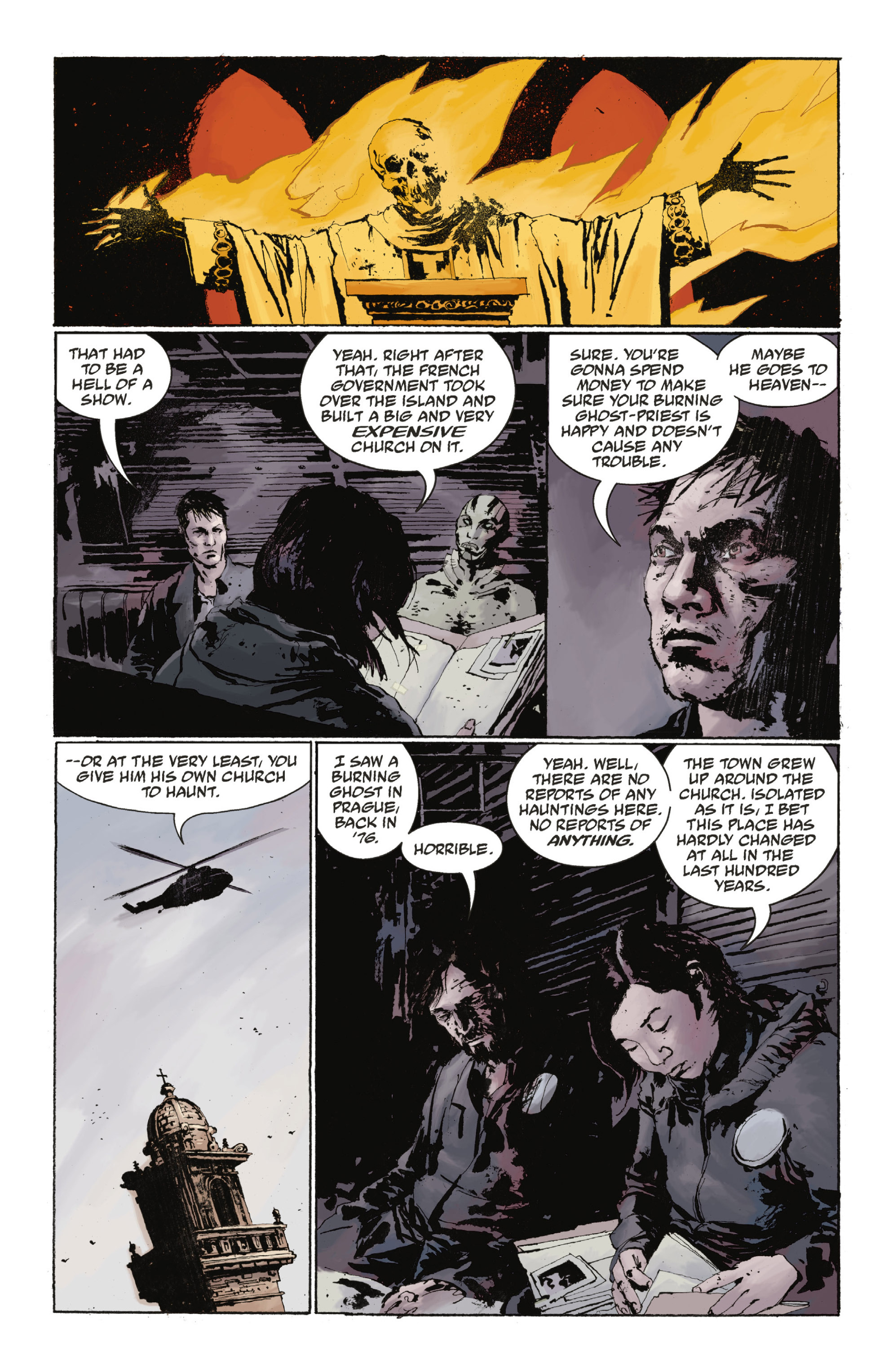 Read online Abe Sapien: The Drowning comic -  Issue #Abe Sapien: The Drowning _TPB - 36