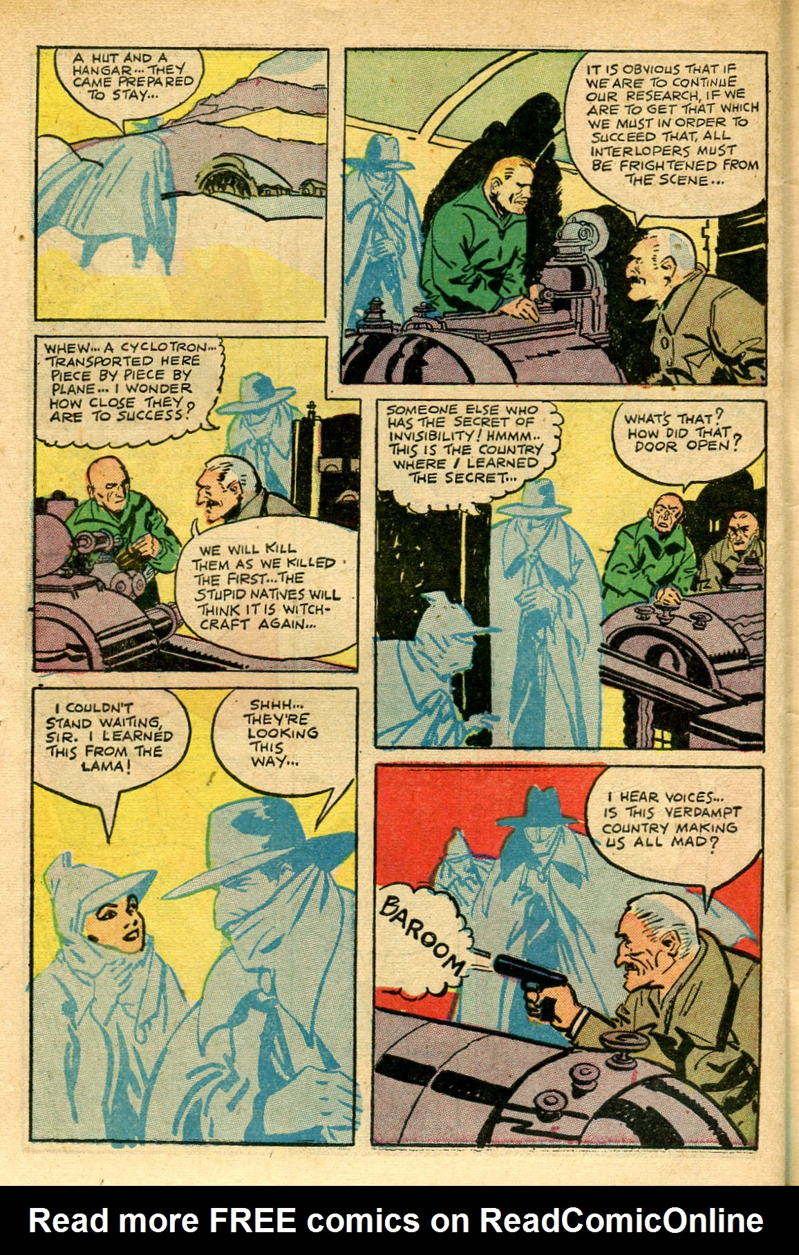 Read online Shadow Comics comic -  Issue #69 - 46