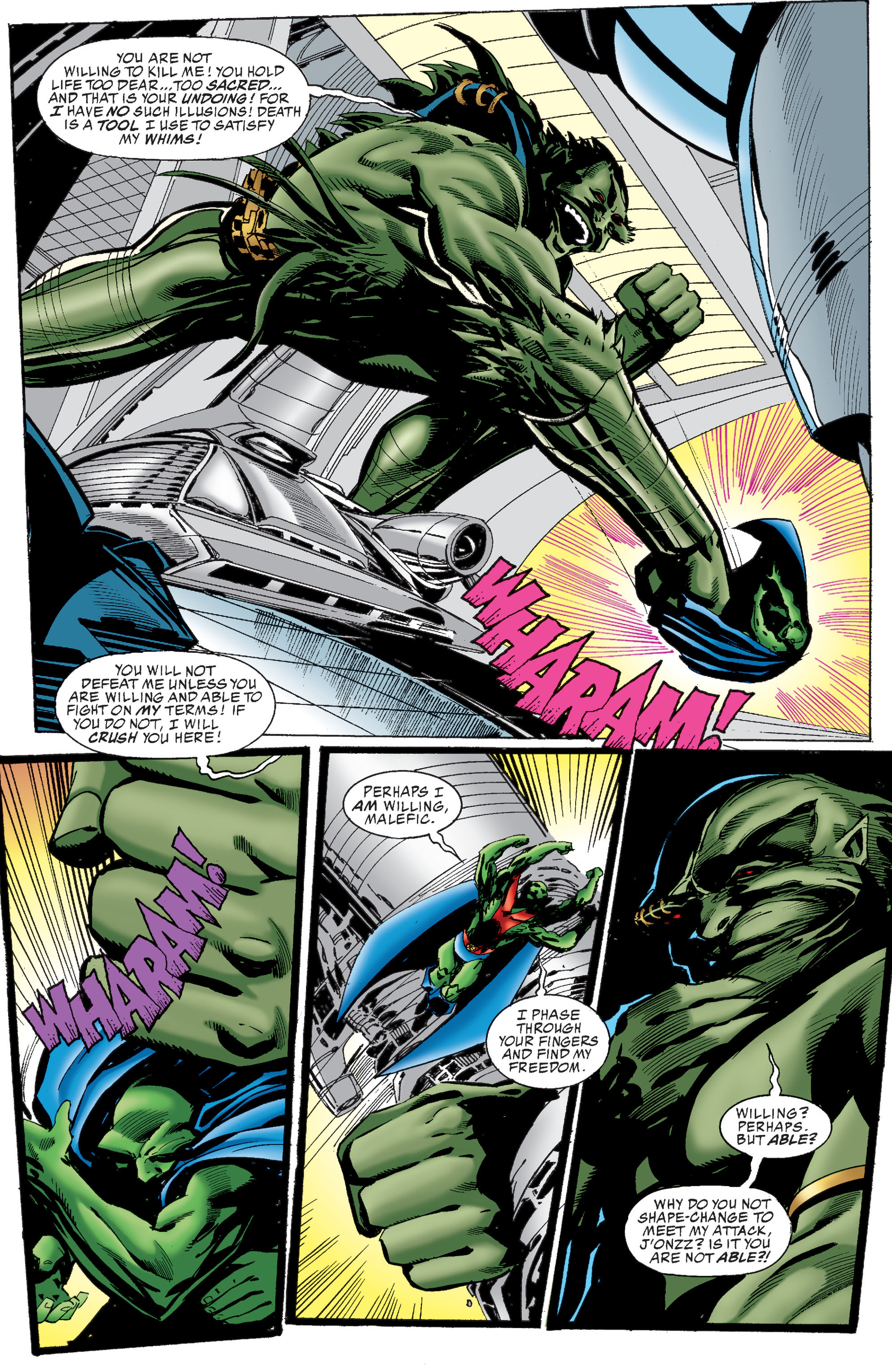 Read online Martian Manhunter: Son of Mars comic -  Issue # TPB - 226