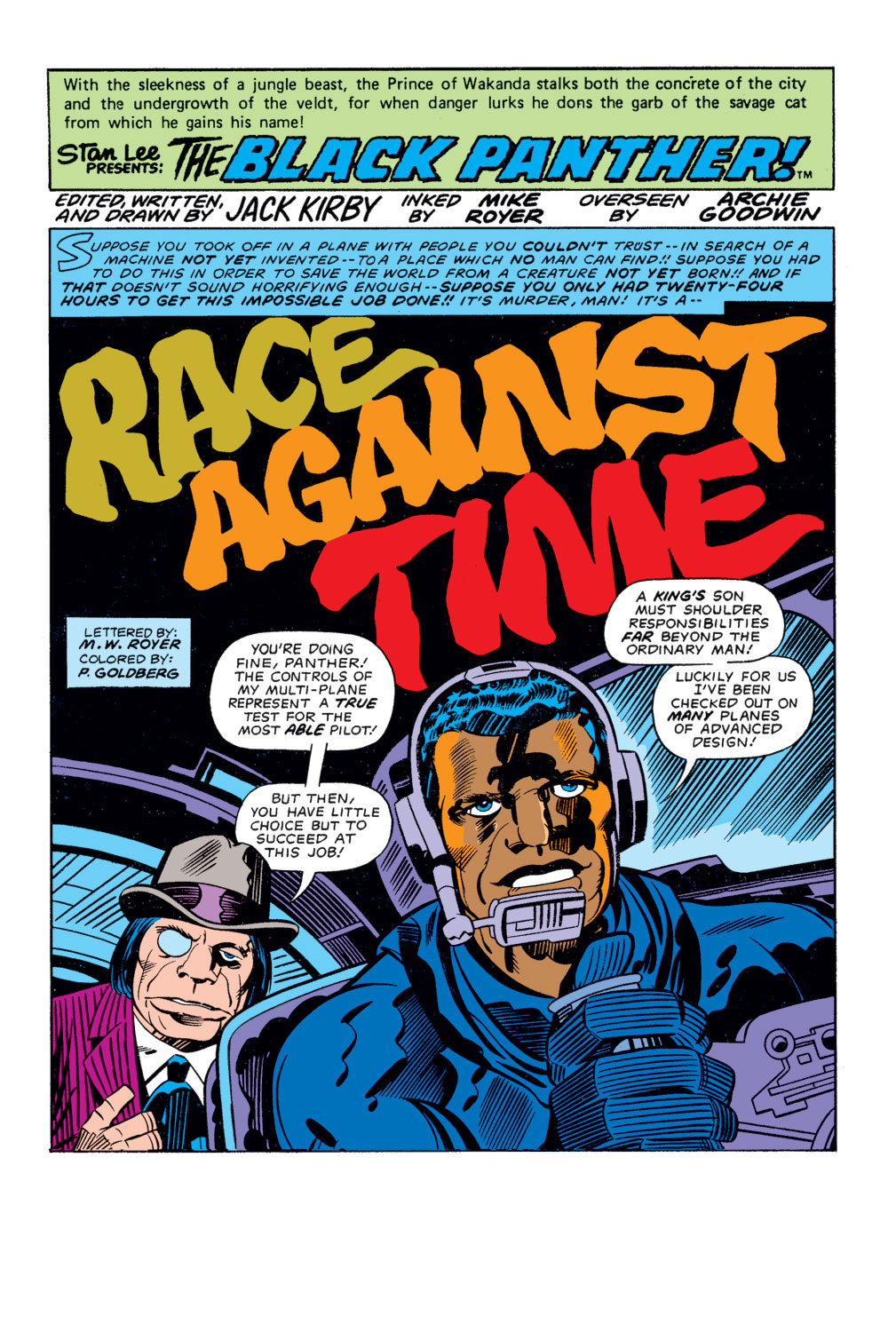 Black Panther (1977) issue 3 - Page 2