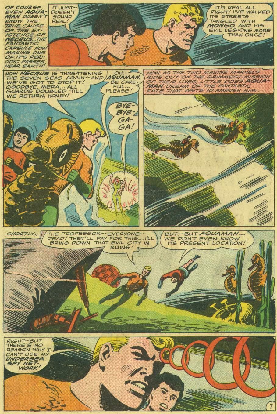 Read online Aquaman (1962) comic -  Issue #30 - 10