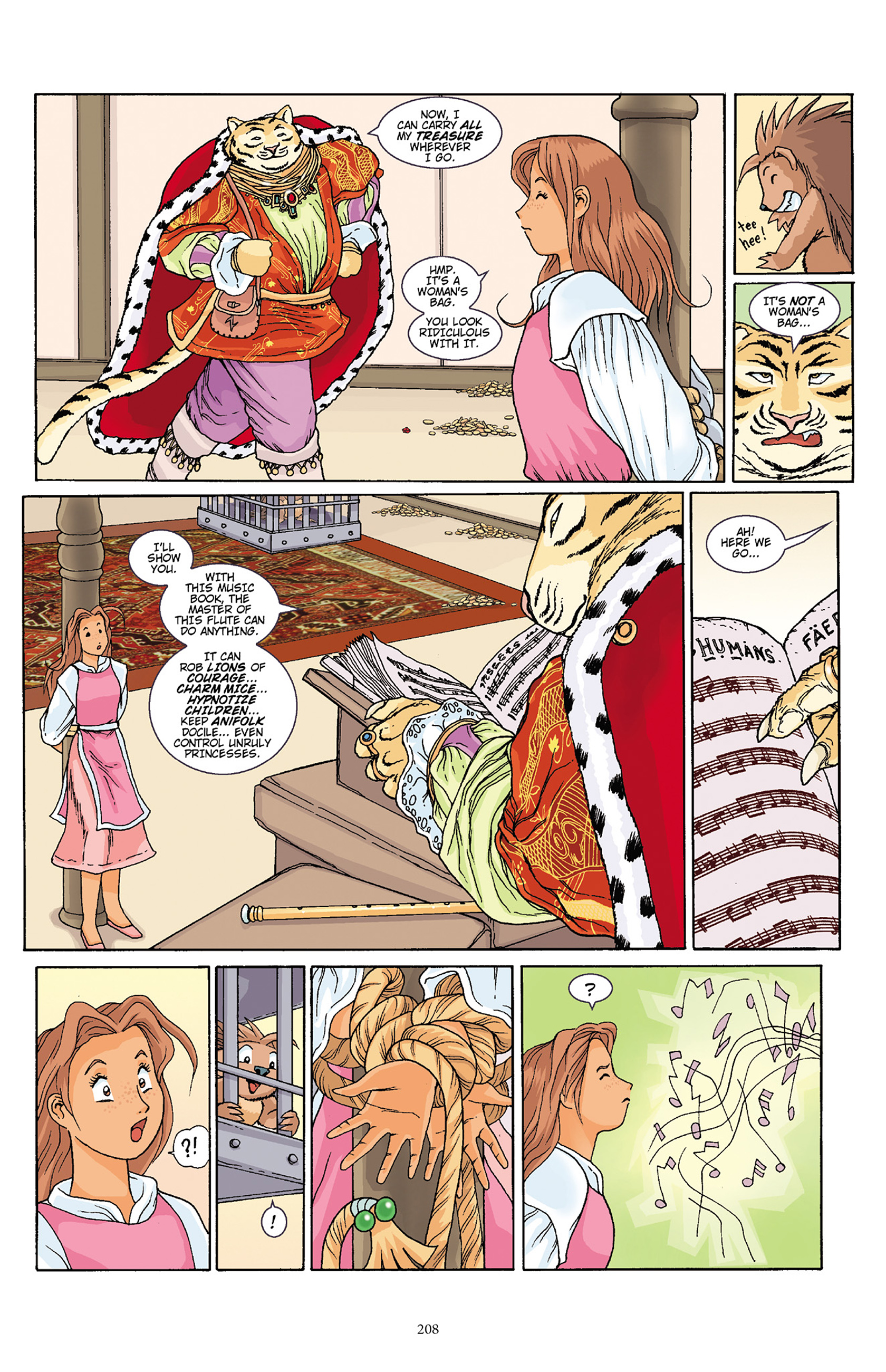 Read online Courageous Princess comic -  Issue # TPB 1 - 205