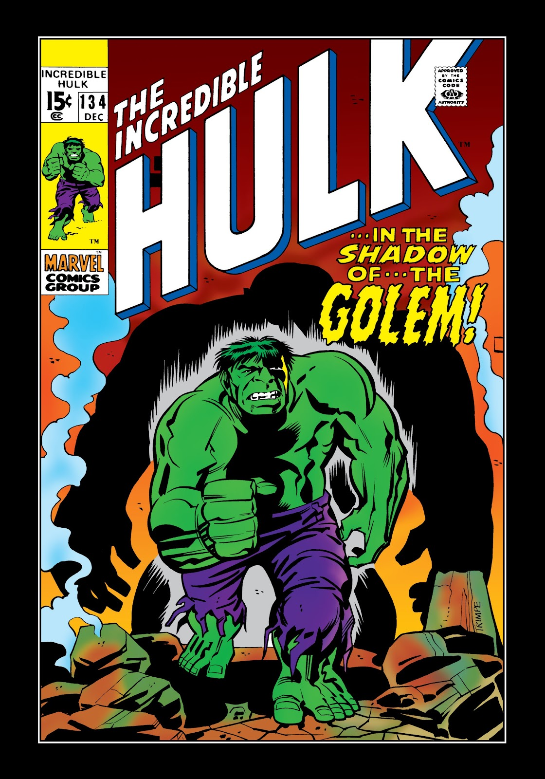 Read online Marvel Masterworks: The Incredible Hulk comic -  Issue # TPB 6 (Part 3) - 54