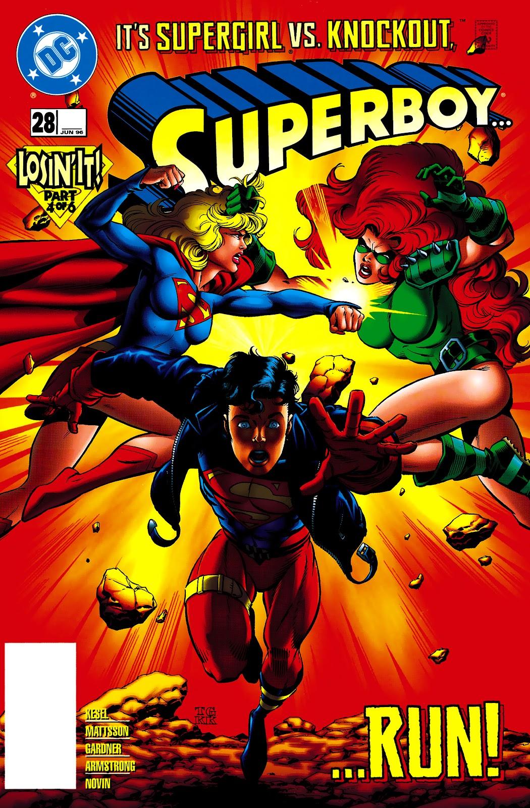 Superboy (1994) 28 Page 1