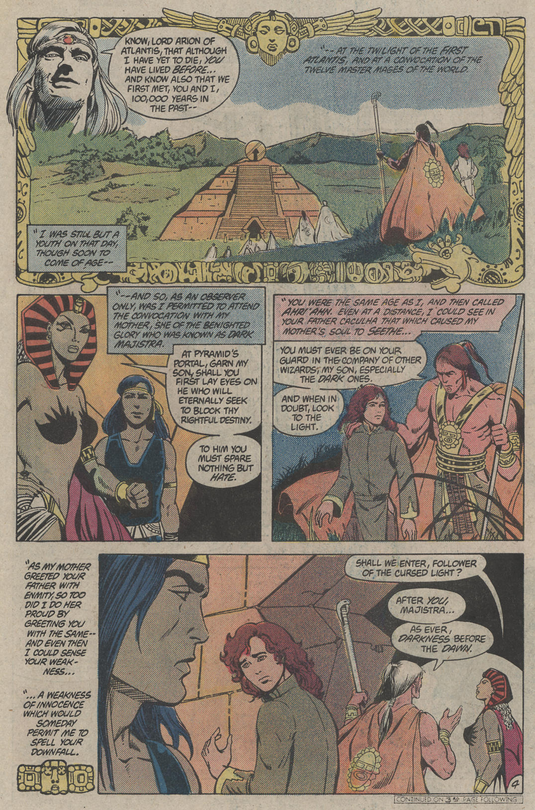 Read online Arion, Lord of Atlantis comic -  Issue #4 - 4