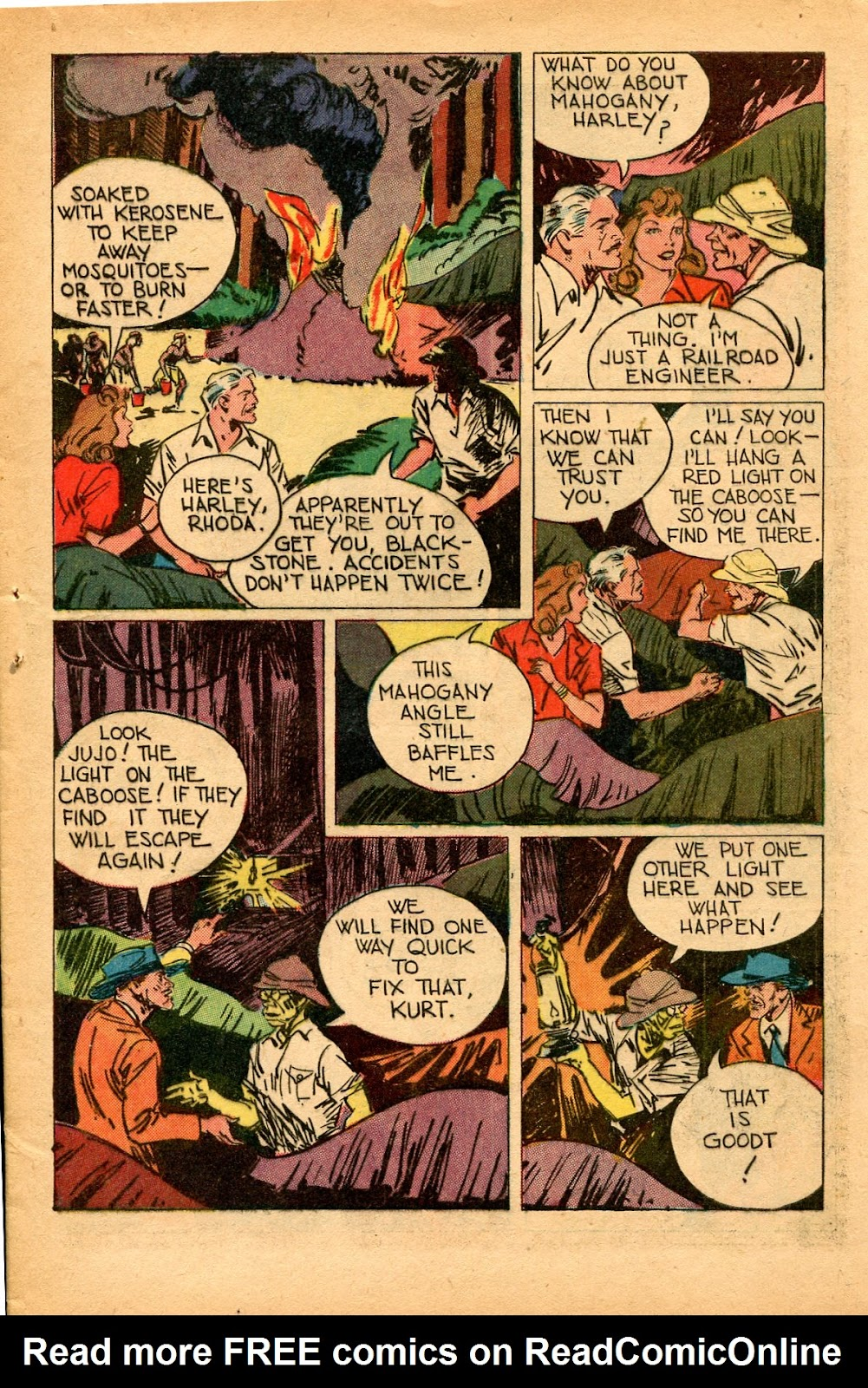 Read online Super-Magician Comics comic -  Issue #33 - 11