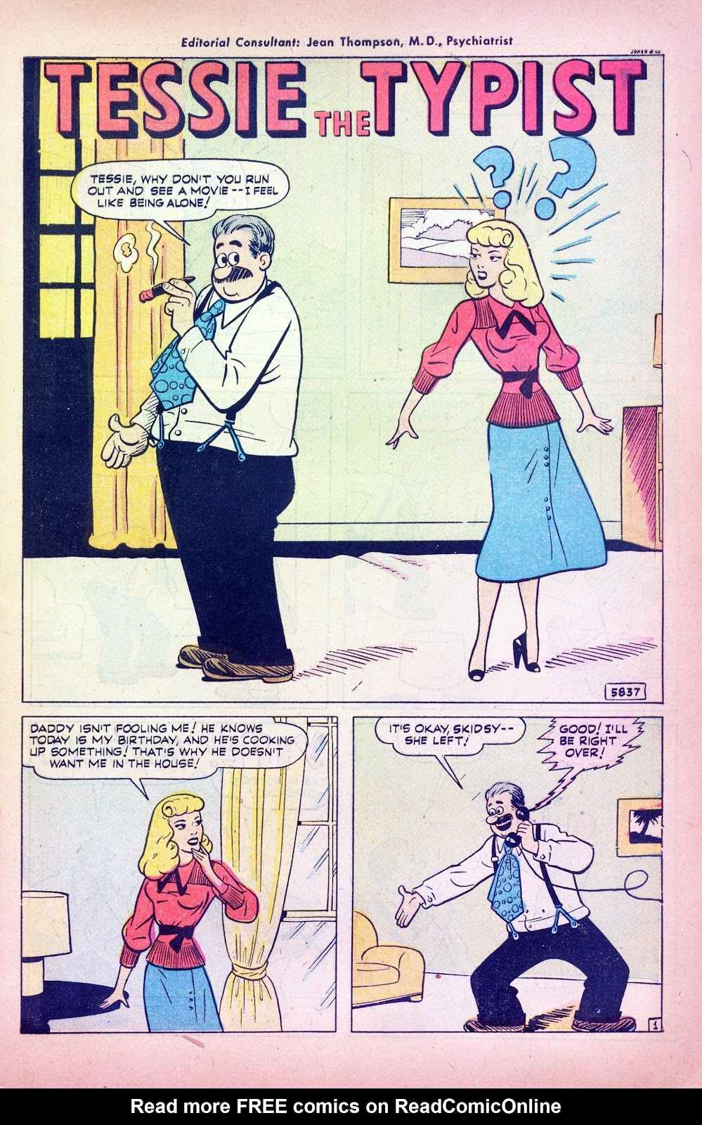 Read online Joker Comics comic -  Issue #40 - 3