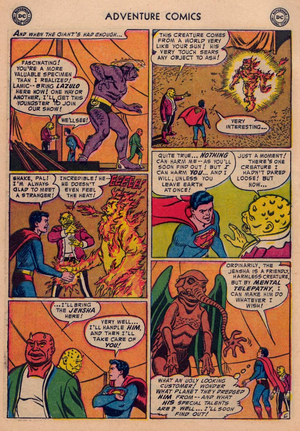 Read online Adventure Comics (1938) comic -  Issue #198 - 8