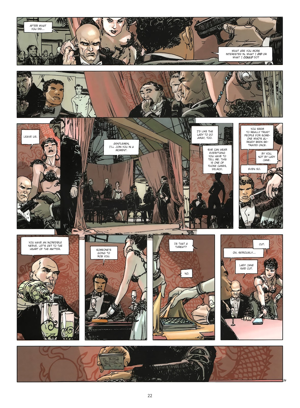 Read online Cutting Edge (2013) comic -  Issue #3 - 20
