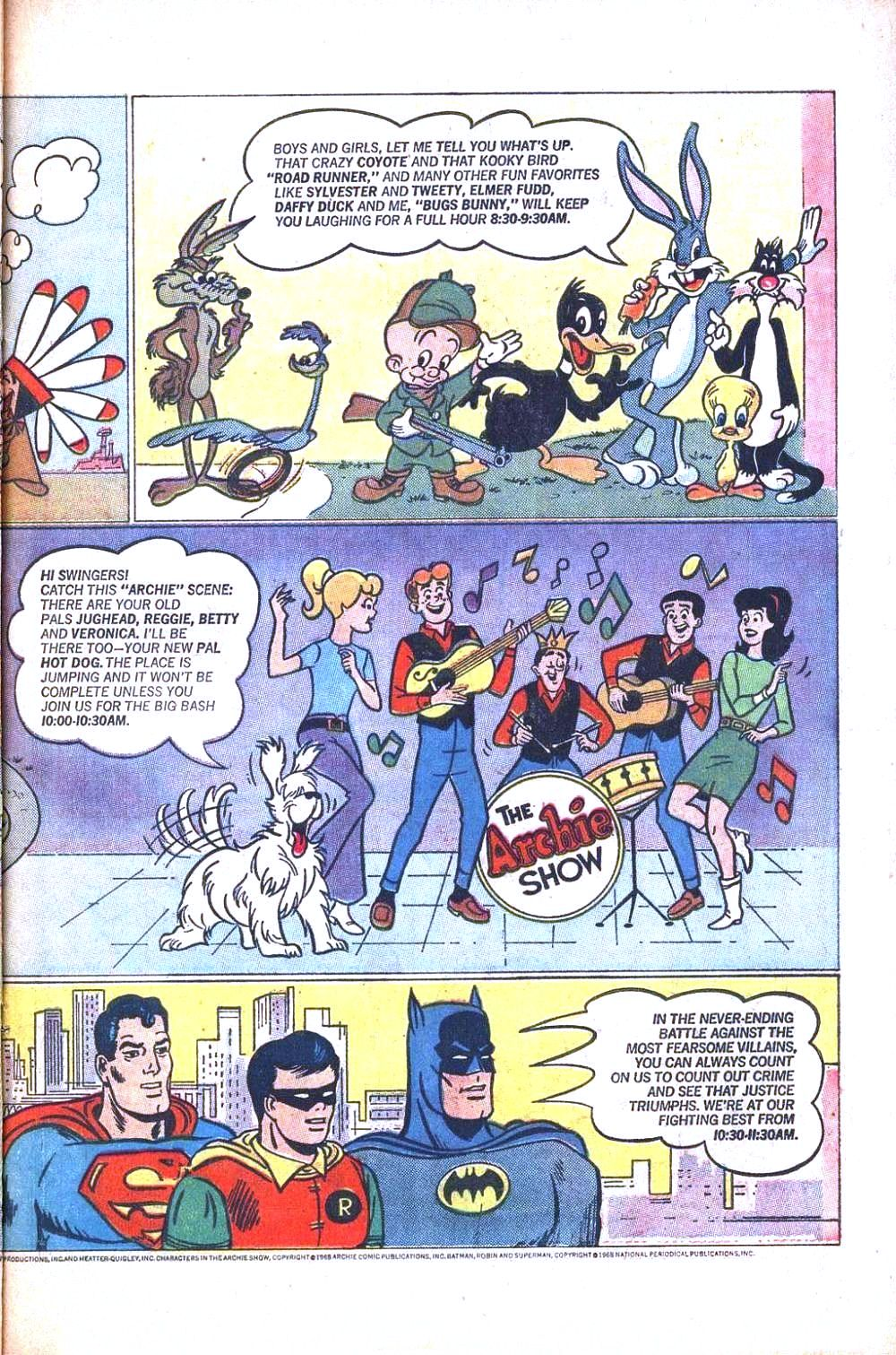 Read online Archie (1960) comic -  Issue #186 - 19
