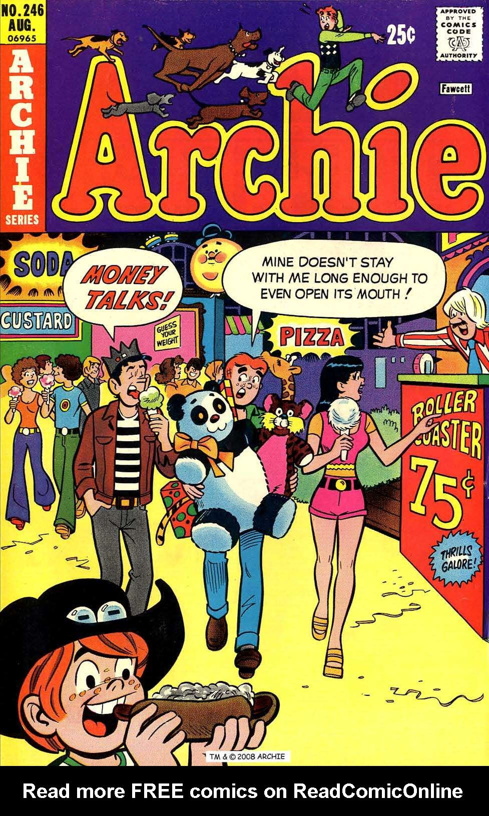 Read online Archie (1960) comic -  Issue #246 - 1
