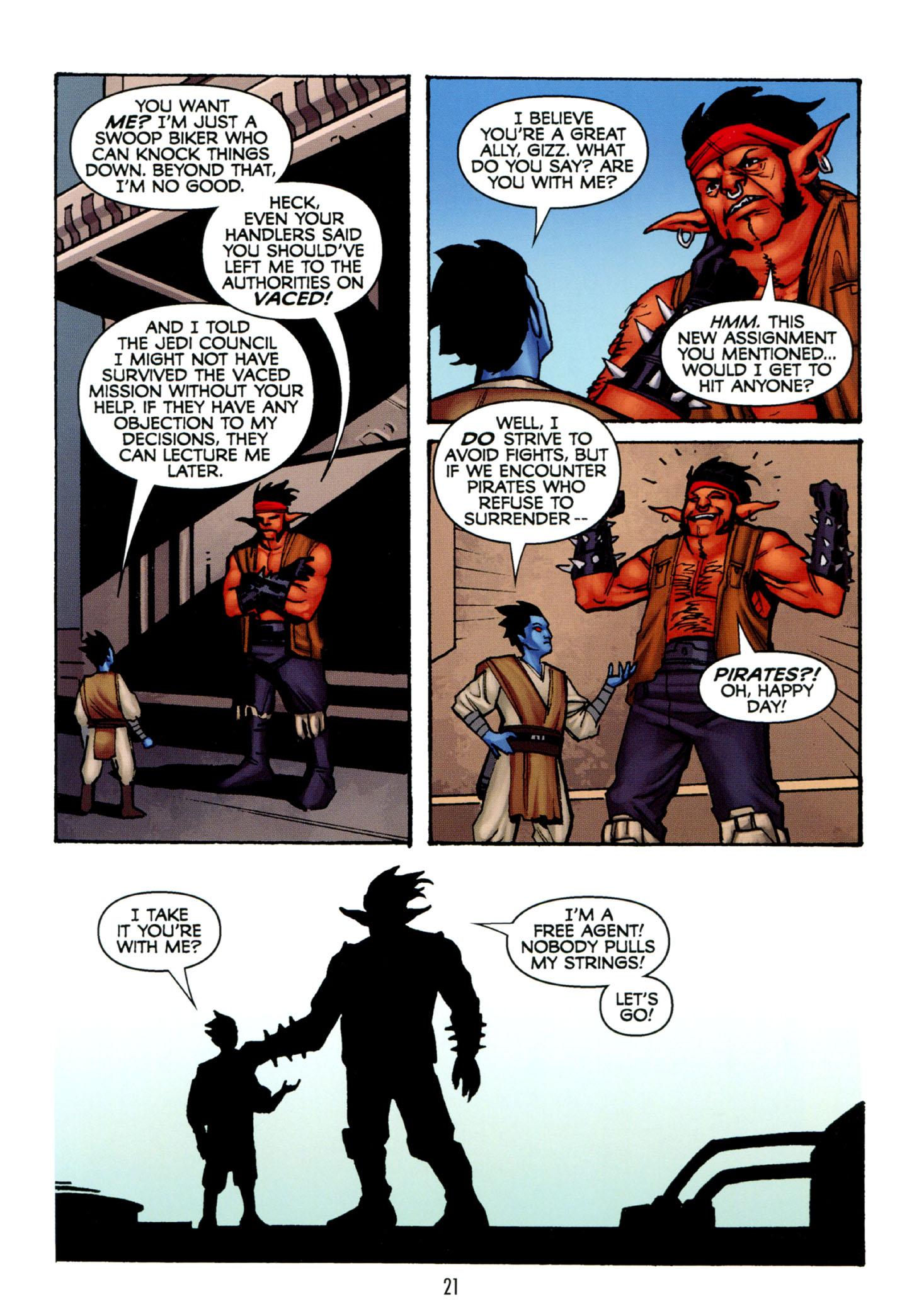 Read online Star Wars: The Clone Wars - Strange Allies comic -  Issue # Full - 22