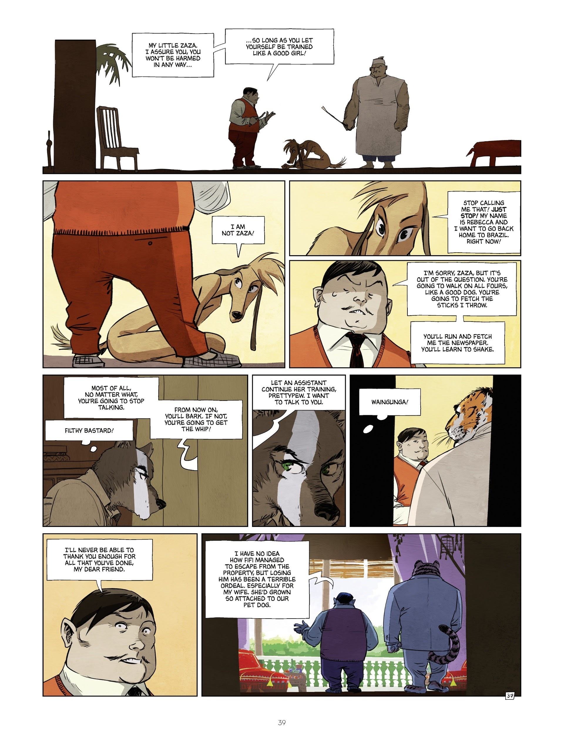 Read online Jack Wolfgang comic -  Issue #3 - 41