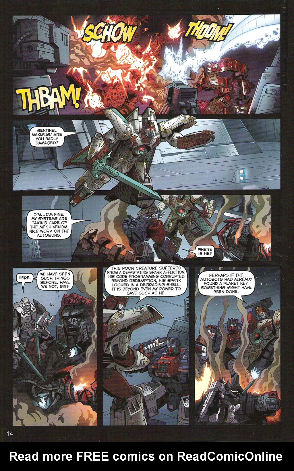 Read online Transformers: Collectors' Club comic -  Issue #5 - 14