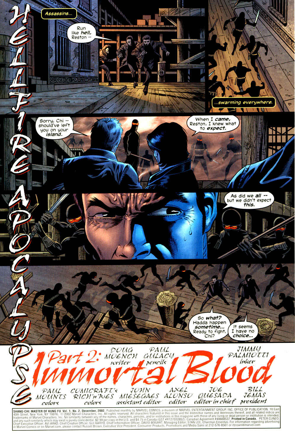 Read online Shang-Chi: Master of Kung Fu comic -  Issue #2 - 2
