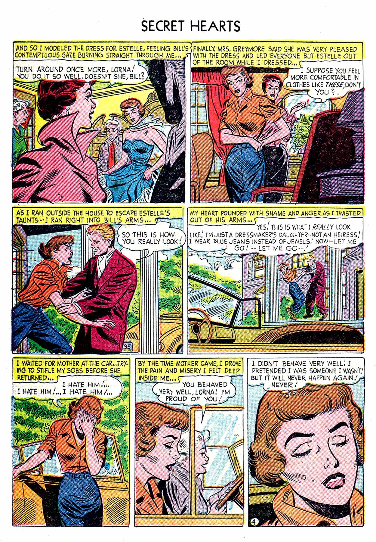 Read online Secret Hearts comic -  Issue #19 - 30