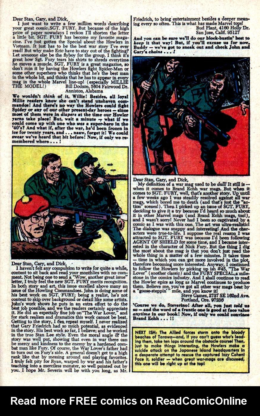 Read online Sgt. Fury comic -  Issue #49 - 33