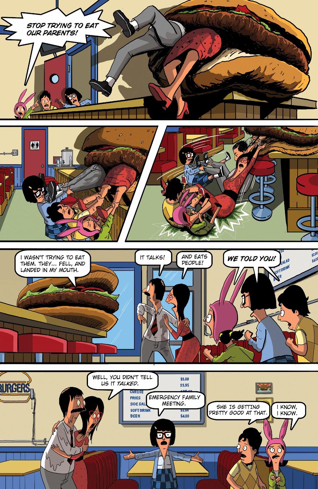Bob's Burgers (2015) Issue #16 #16 - English 21
