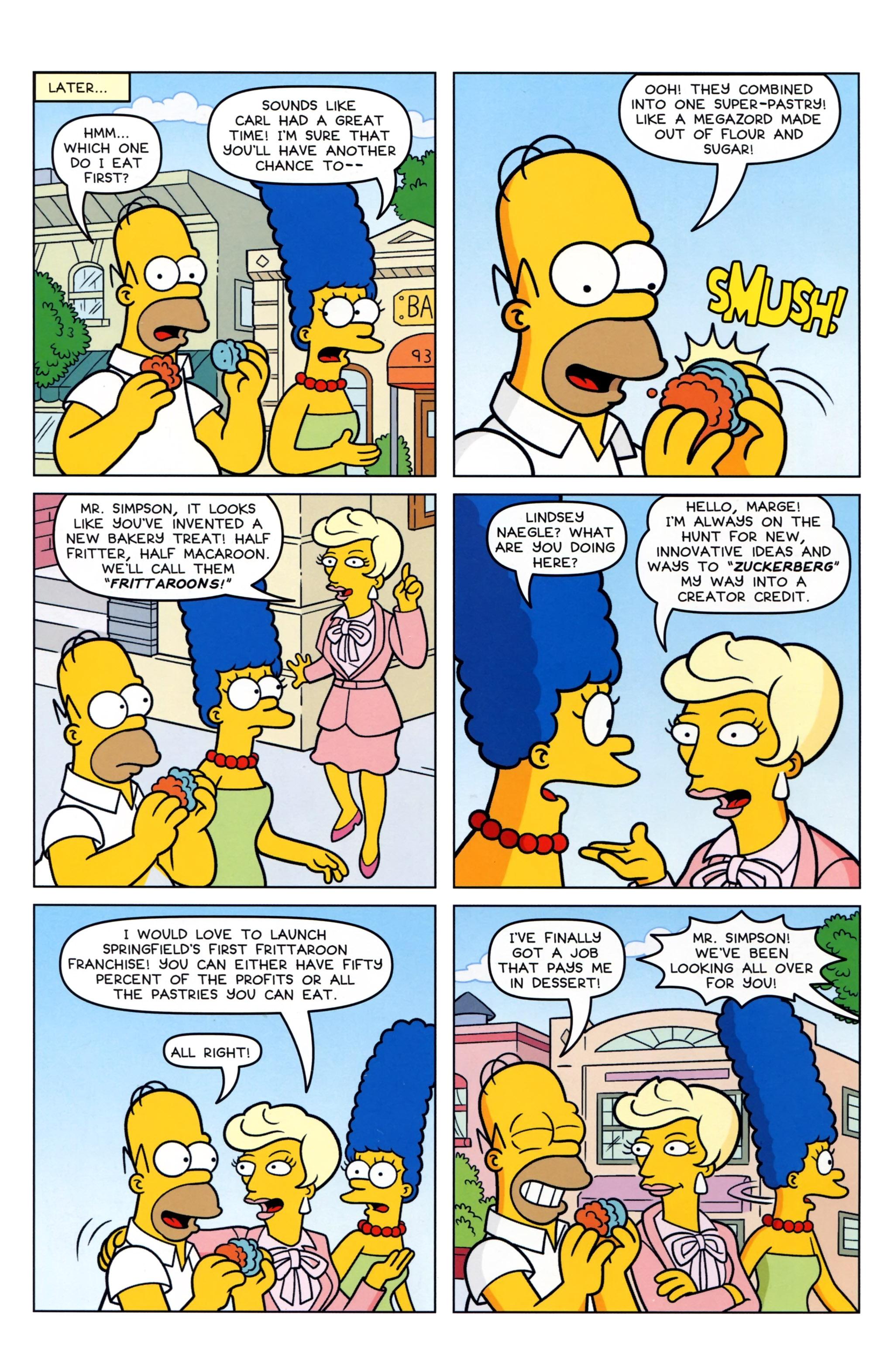 Read online Simpsons Comics comic -  Issue #223 - 6