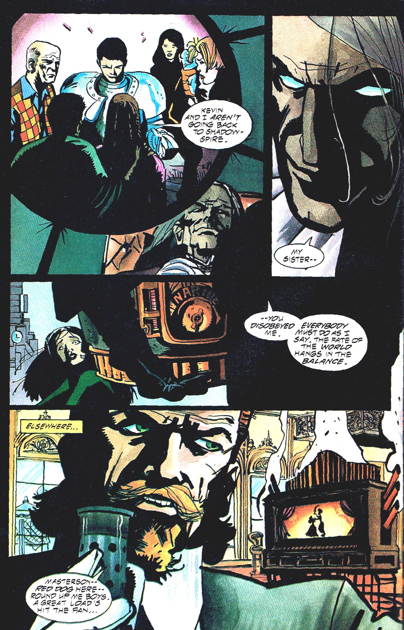 Read online Shadow Cabinet comic -  Issue #16 - 32