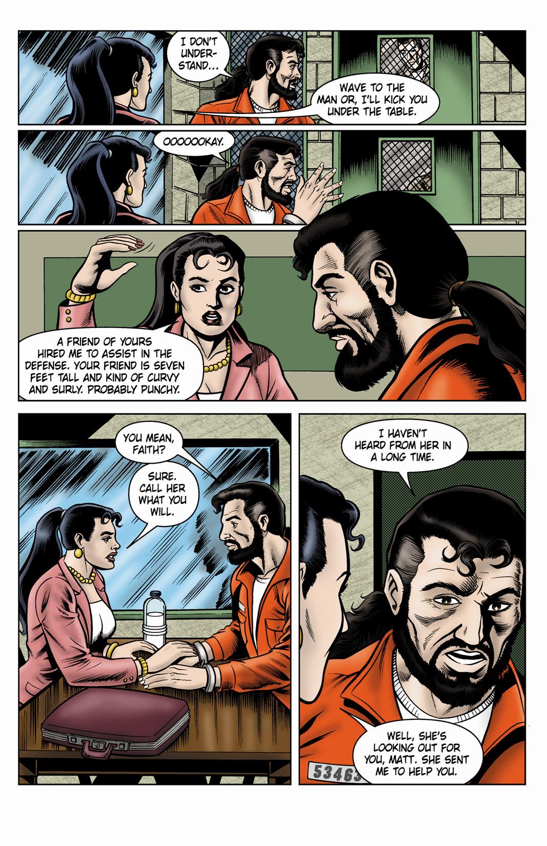 Read online SideChicks comic -  Issue #4 - 11