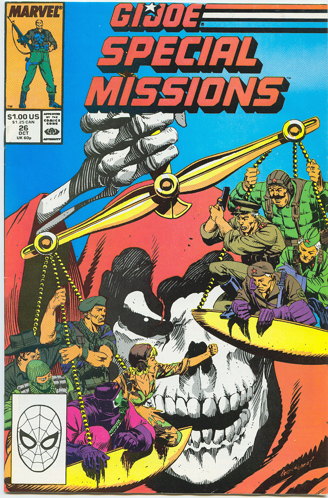 G.I. Joe Special Missions 26 Page 1