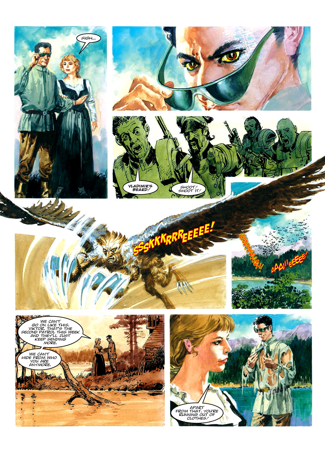Read online Nikolai Dante comic -  Issue # TPB 10 - 28