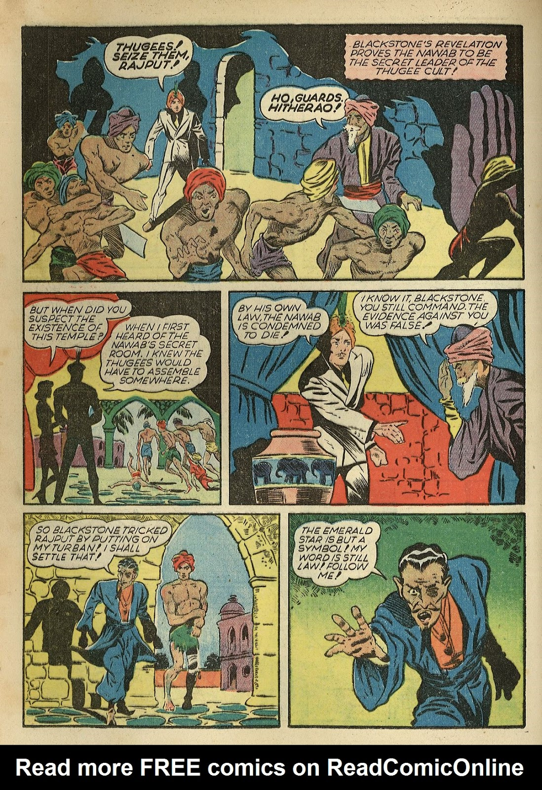 Read online Super-Magician Comics comic -  Issue #1 - 36