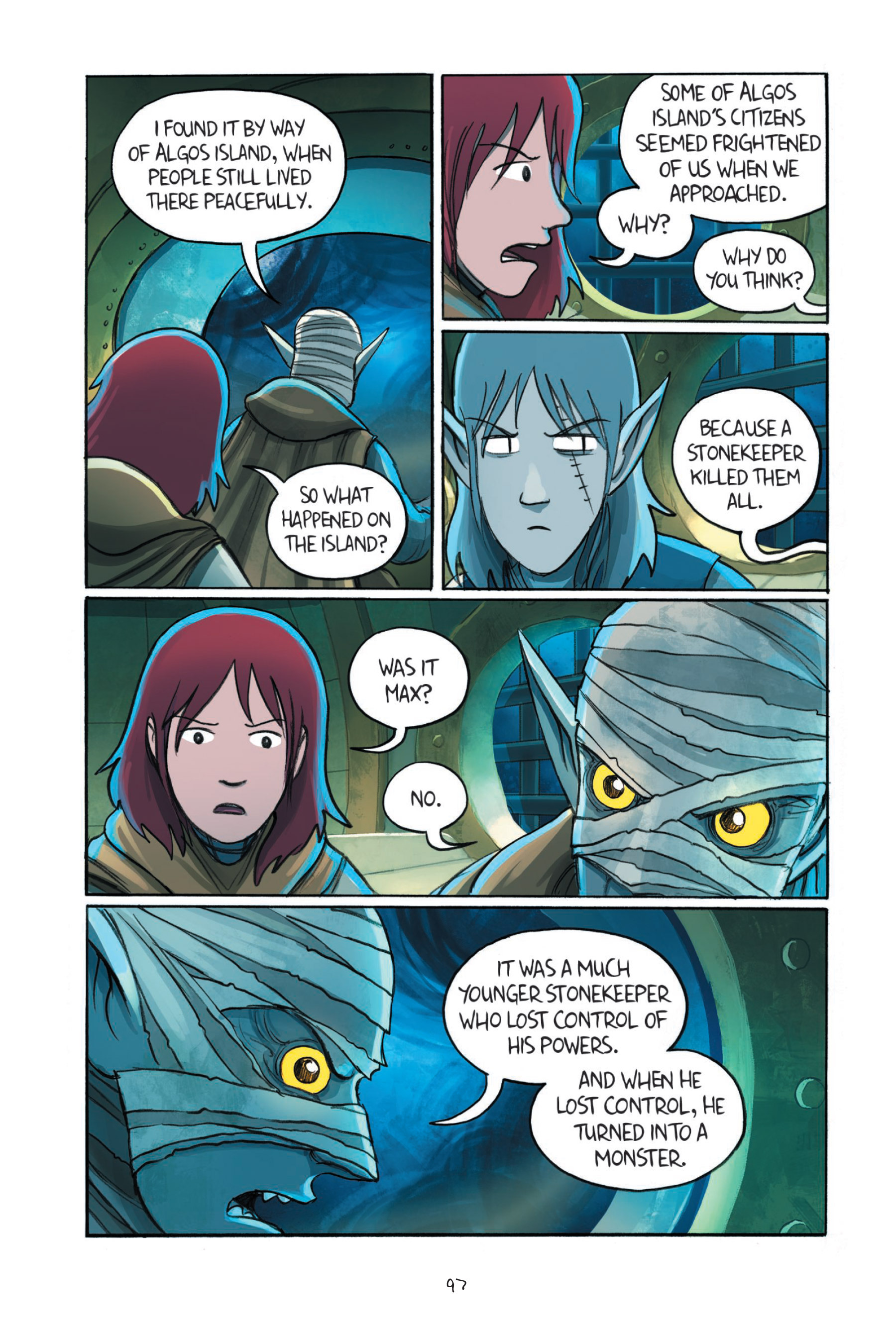Read online Amulet comic -  Issue #7 - 98