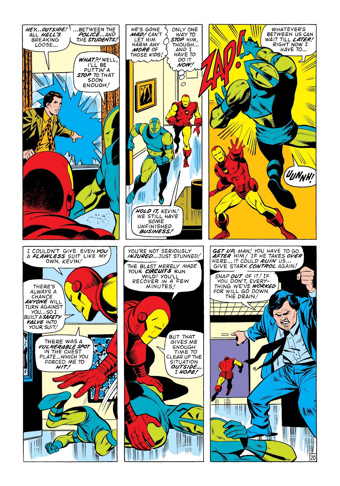 Read online Marvel Masterworks: The Invincible Iron Man comic -  Issue # TPB 8 (Part 2) - 42