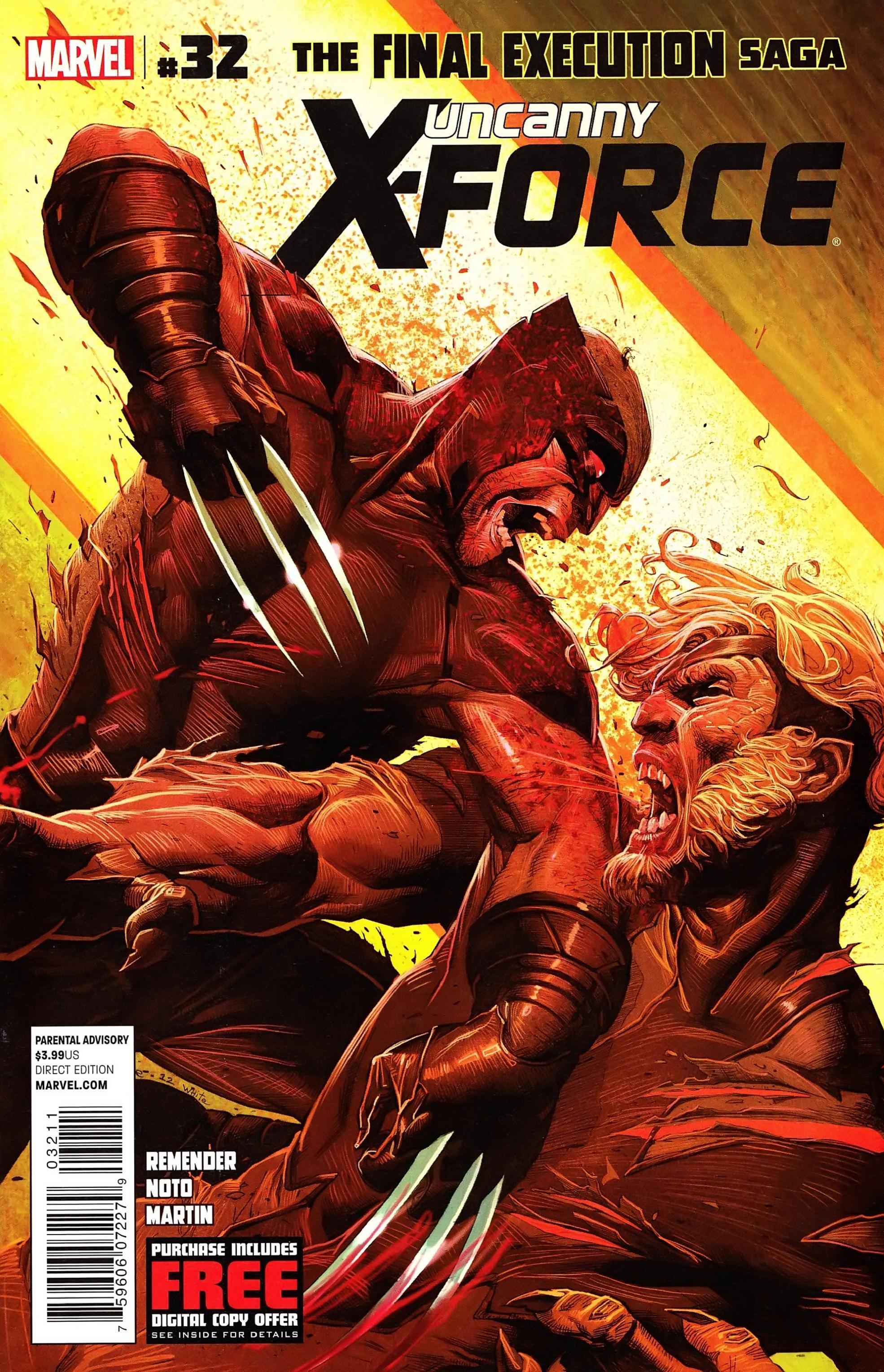 Uncanny X-Force (2010) #32 #34 - English 2