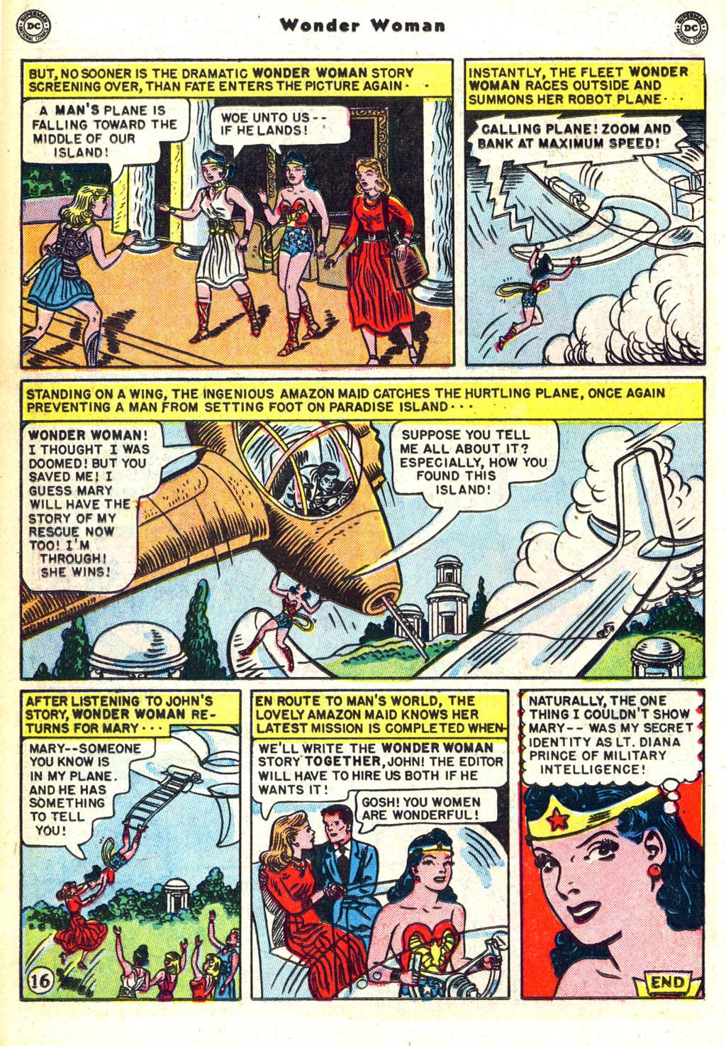 Read online Wonder Woman (1942) comic -  Issue #45 - 20