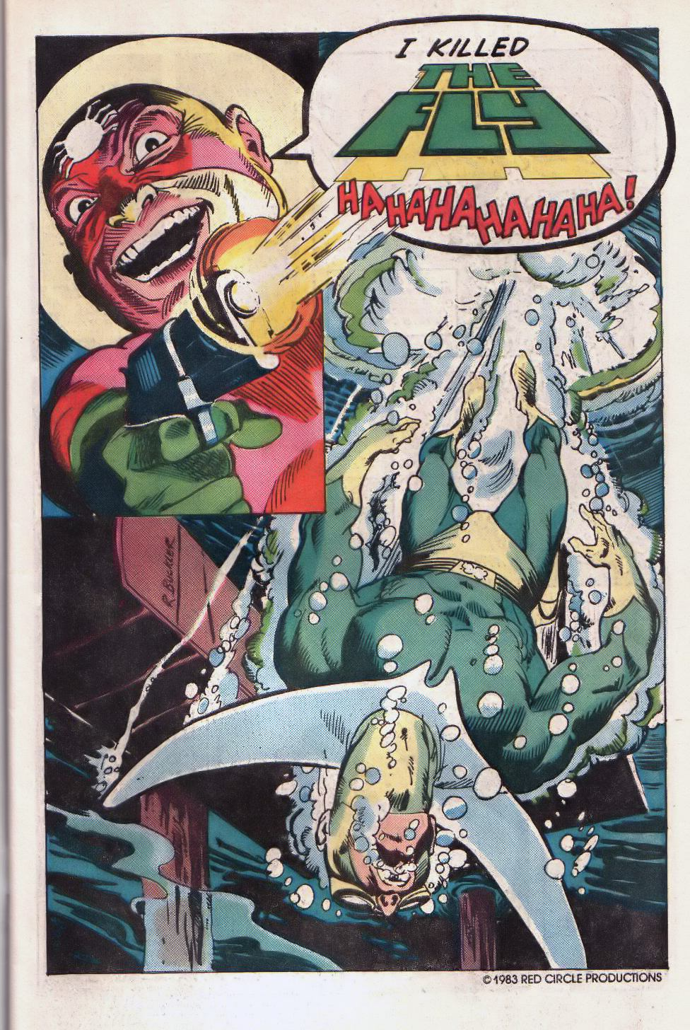 Read online The Fly (1983) comic -  Issue #2 - 3