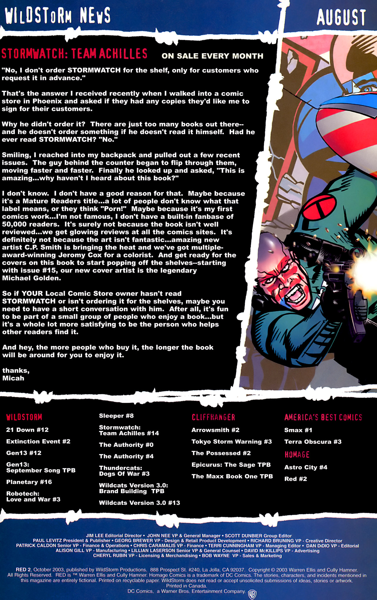 Read online Red comic -  Issue #2 - 24