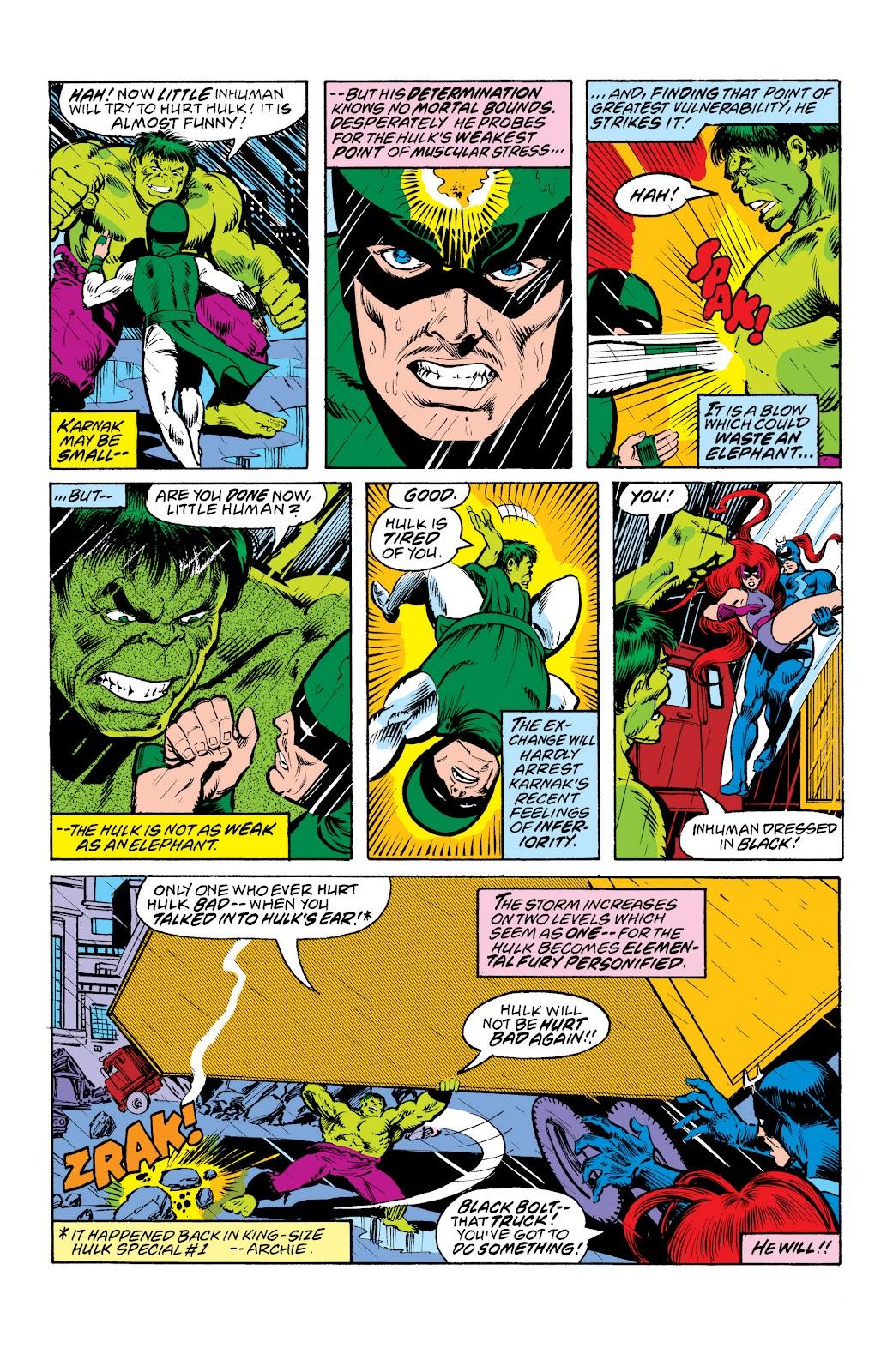 Read online Marvel Masterworks: The Inhumans comic -  Issue # TPB 2 (Part 3) - 4